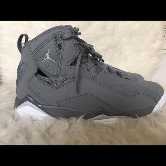 new style bf4f5 1a5ce ... basketball shoe cool grey black 4c804 b95cd  clearance nike air jordan  true flight cool grey size 12 12a18 9fe59